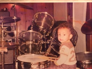 1977-Dad's-drums